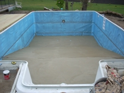TC Pools Full 8 Deep End With No Hopper Walls