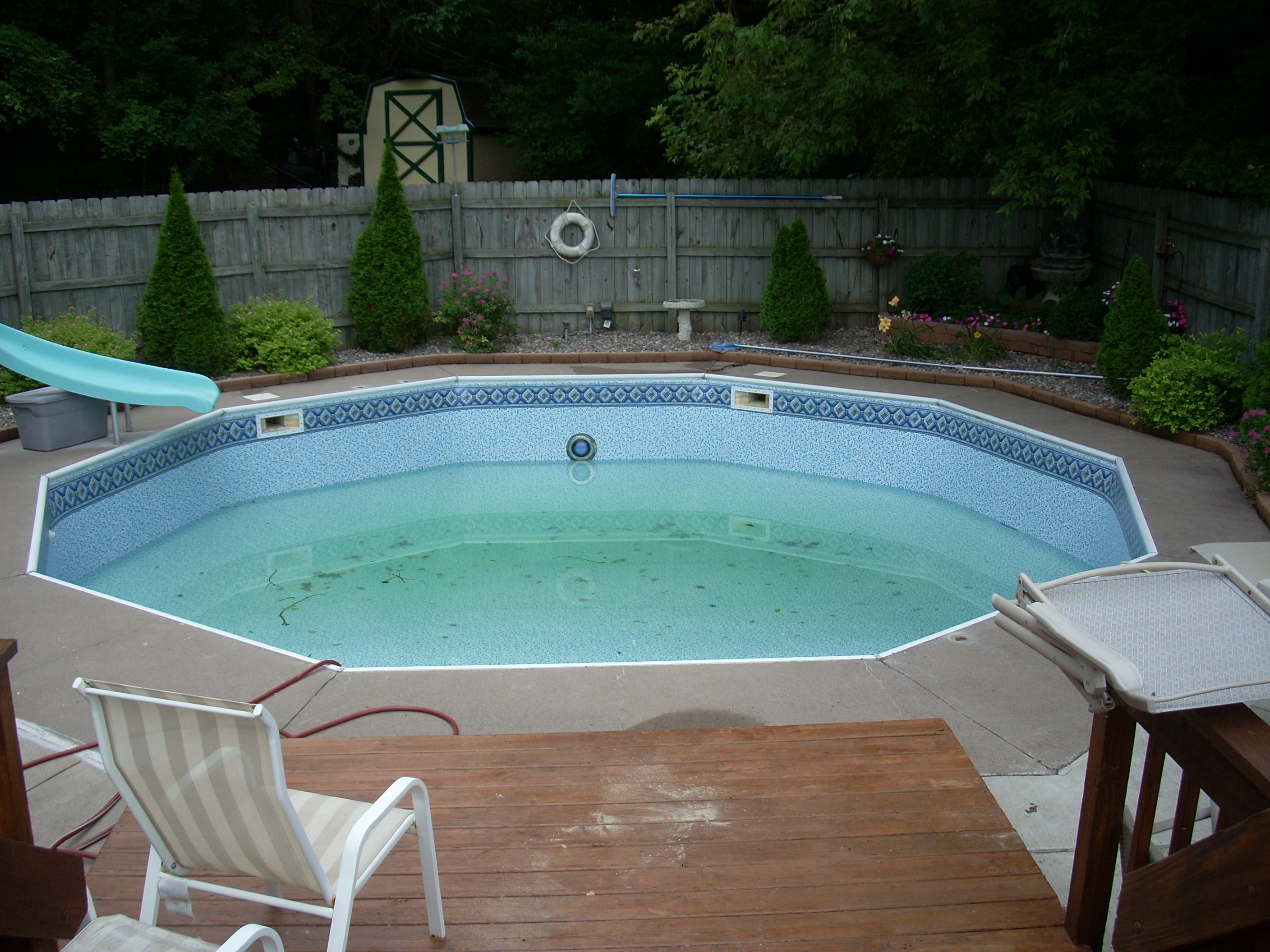 Vinyl liner replacement tc pools for Inground swimming pool liners
